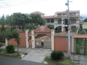 The School, CPI Heredia, as Seen from Our Apartment