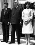The Kennedys with President Charles de Gaulle