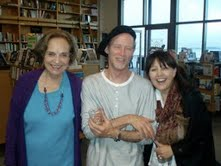 Joanna Biggar, Lowry& Linda McFerrin reliving the magic at Book Passage, San Francisco