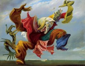 The Fireside Angel, Max Ernst, 1937